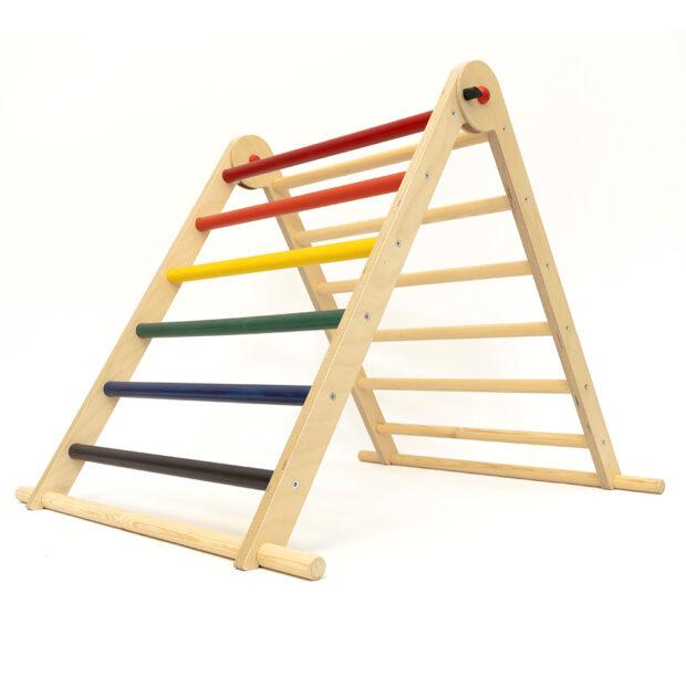 Triclimb-single-rainbow-pikler-triangle