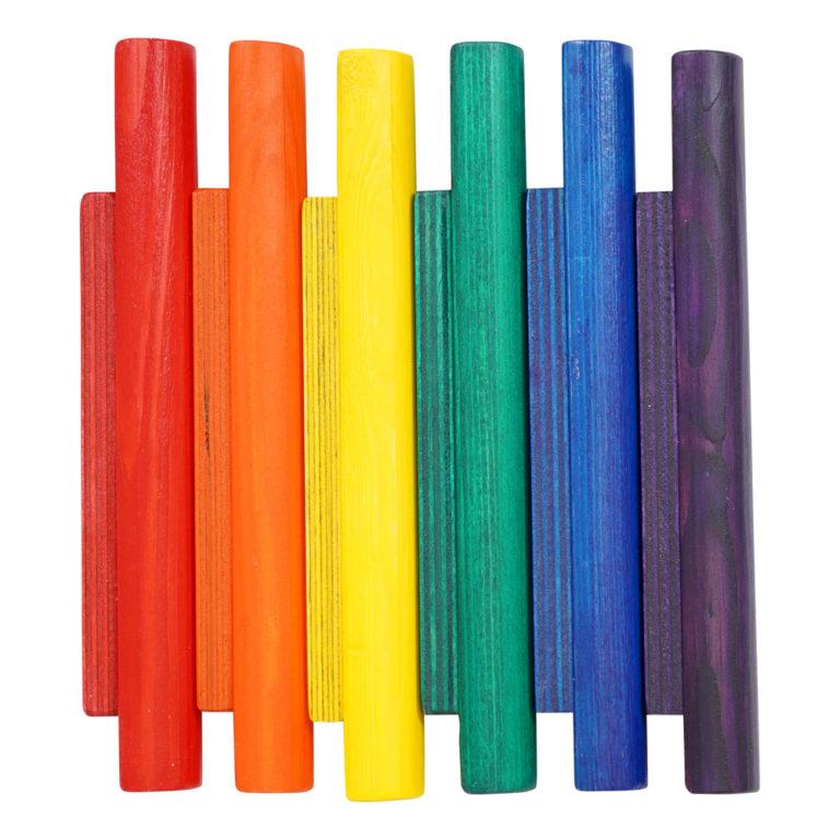 Miri Sticks Rainbow 2 wooden